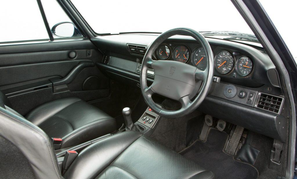 Porsche 993 Carrera 4 For Sale - Interior 2