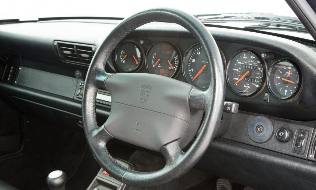 Porsche 993 Carrera 4 For Sale - Interior 3