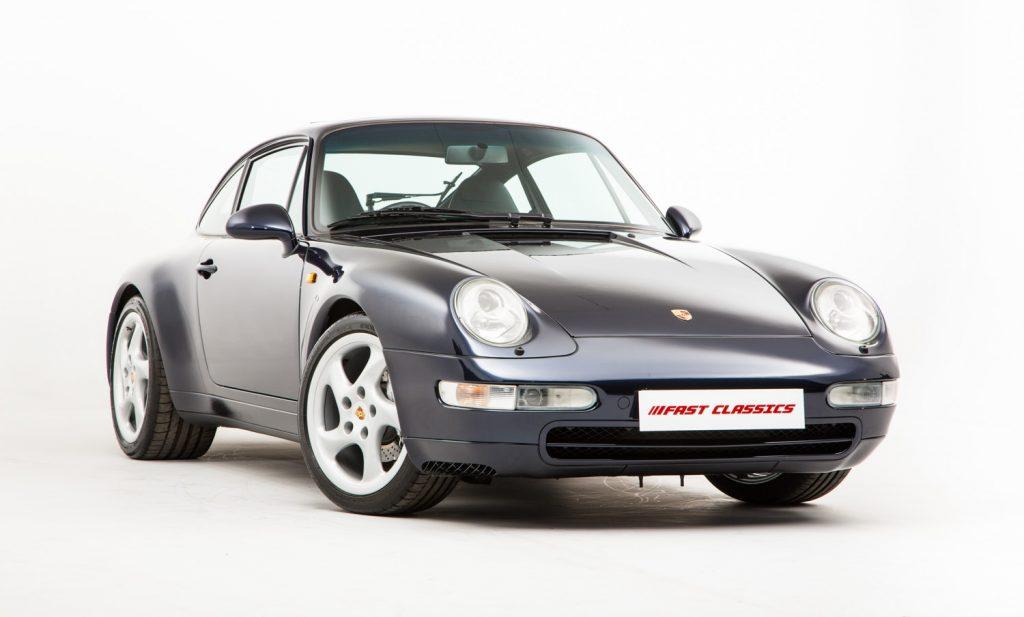 Porsche 993 Carrera 4 For Sale - Exterior 4