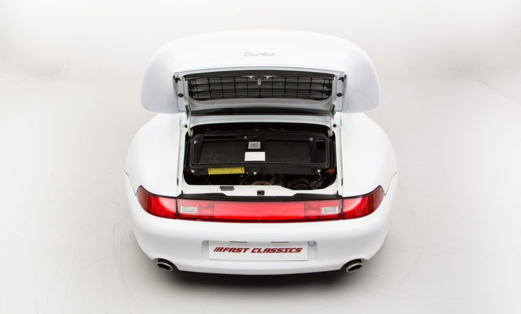 Porsche 993 Turbo For Sale - Engine and Transmission 1