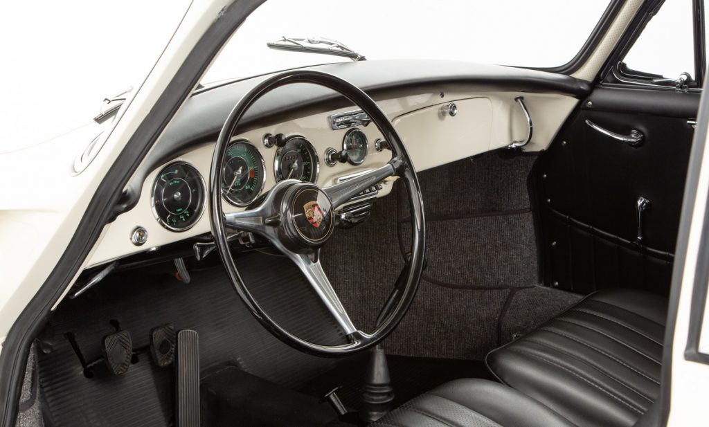 Porsche 356B 1600S For Sale - Interior 2
