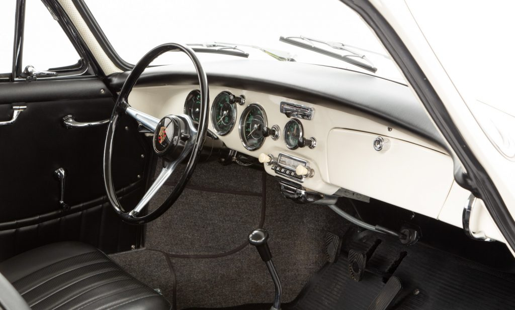 Porsche 356B 1600S For Sale - Interior 5